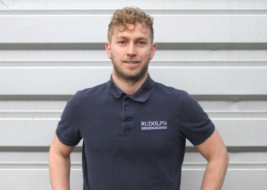 Pascal Rudolph - Geschäftsführer / Rudolph Metallbau GmbH in Backnang